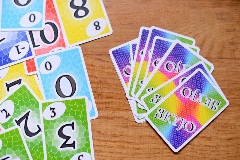 Avis et test du jeu Skyjo , jeu de cartes