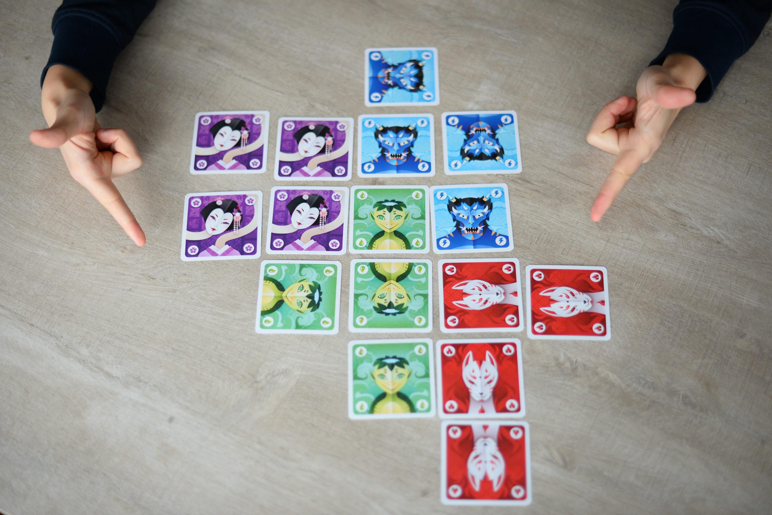 Yokai, jeu de placement de cartes pour toute la famille