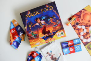 magic fold, jeu, jeu famille, de 2 à 4 joueurs, tapis, pliage