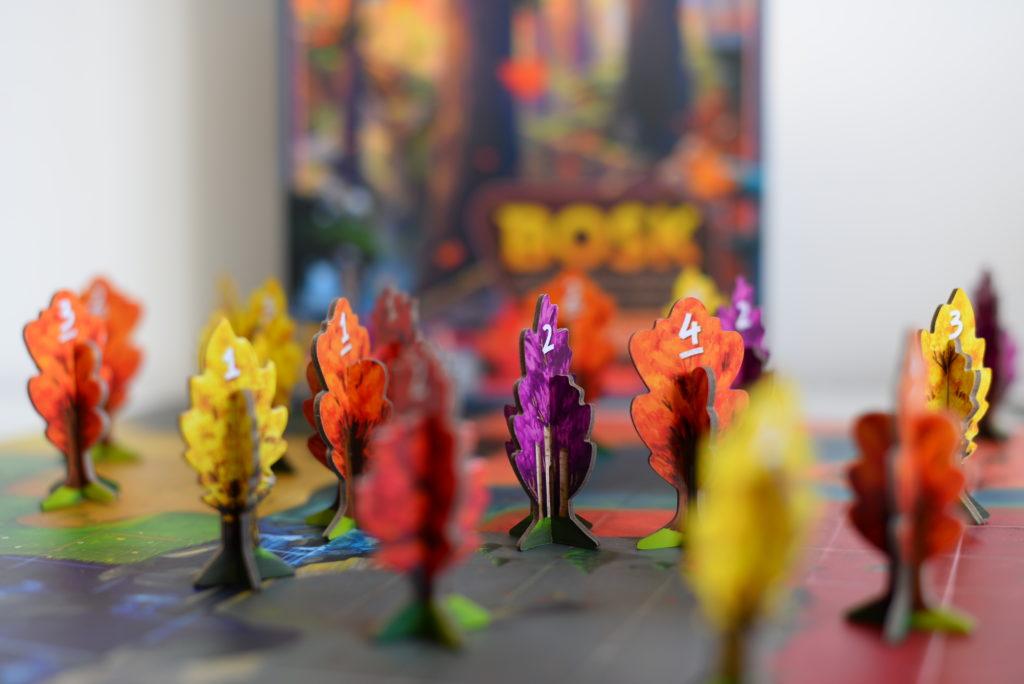 bosk, jeu de placement, jeu de société, jeu de 2 à 4 joueurs