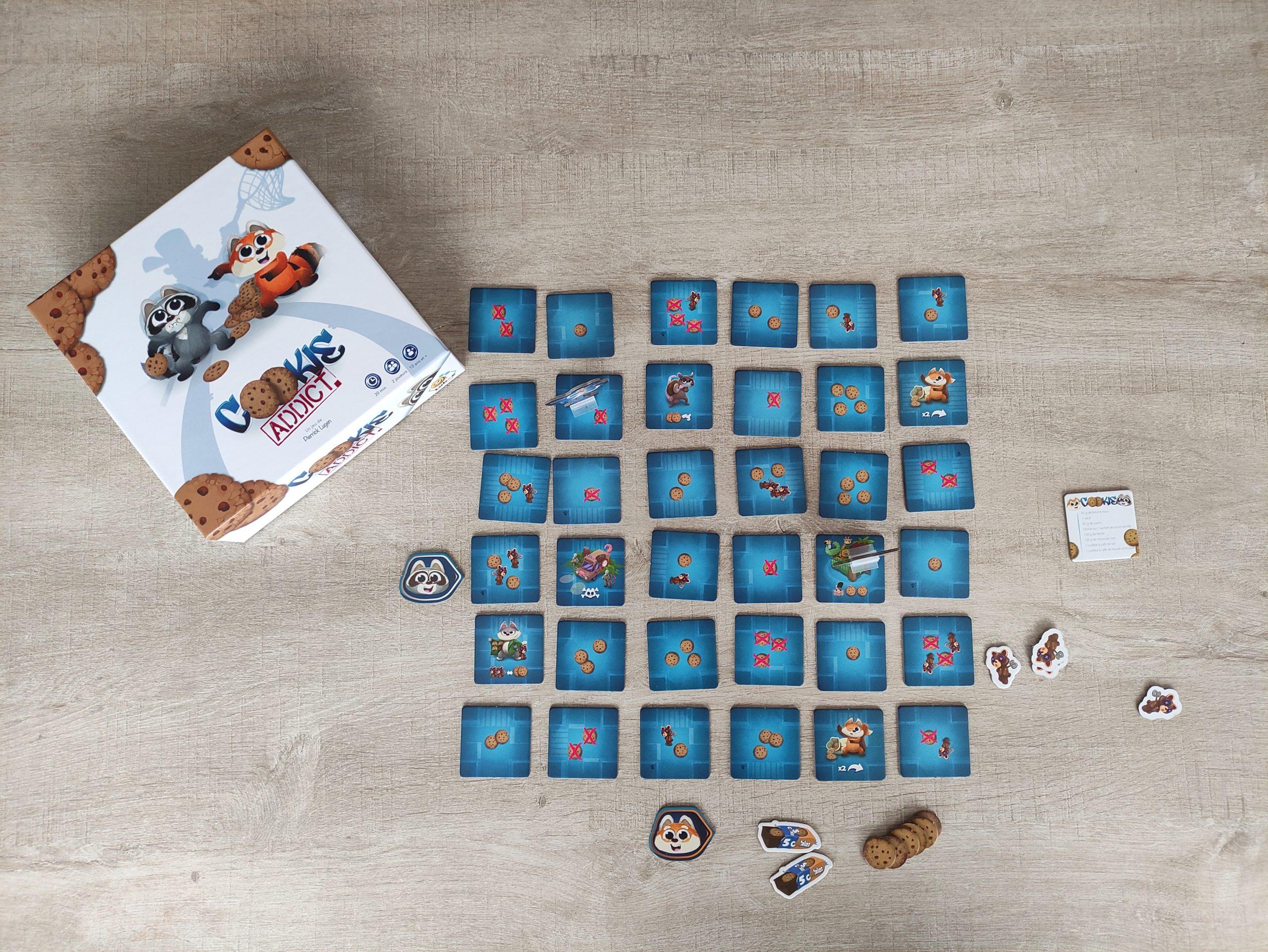 jeu test avis cookies addict
