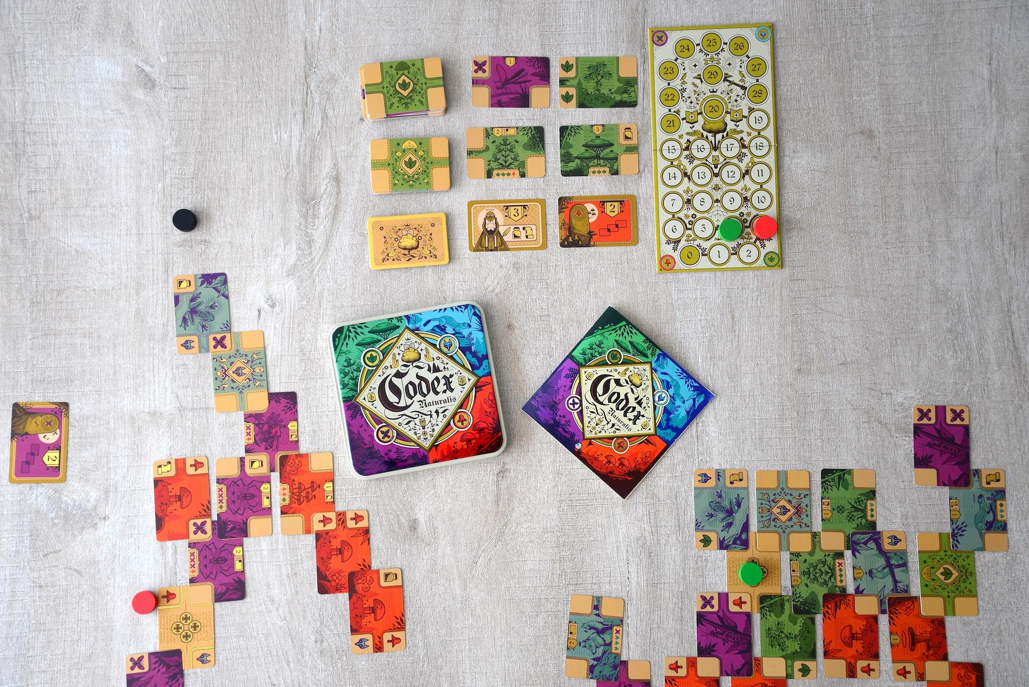 codex naturalis, jeu, bombyx, jeu de réflexion, test, avis