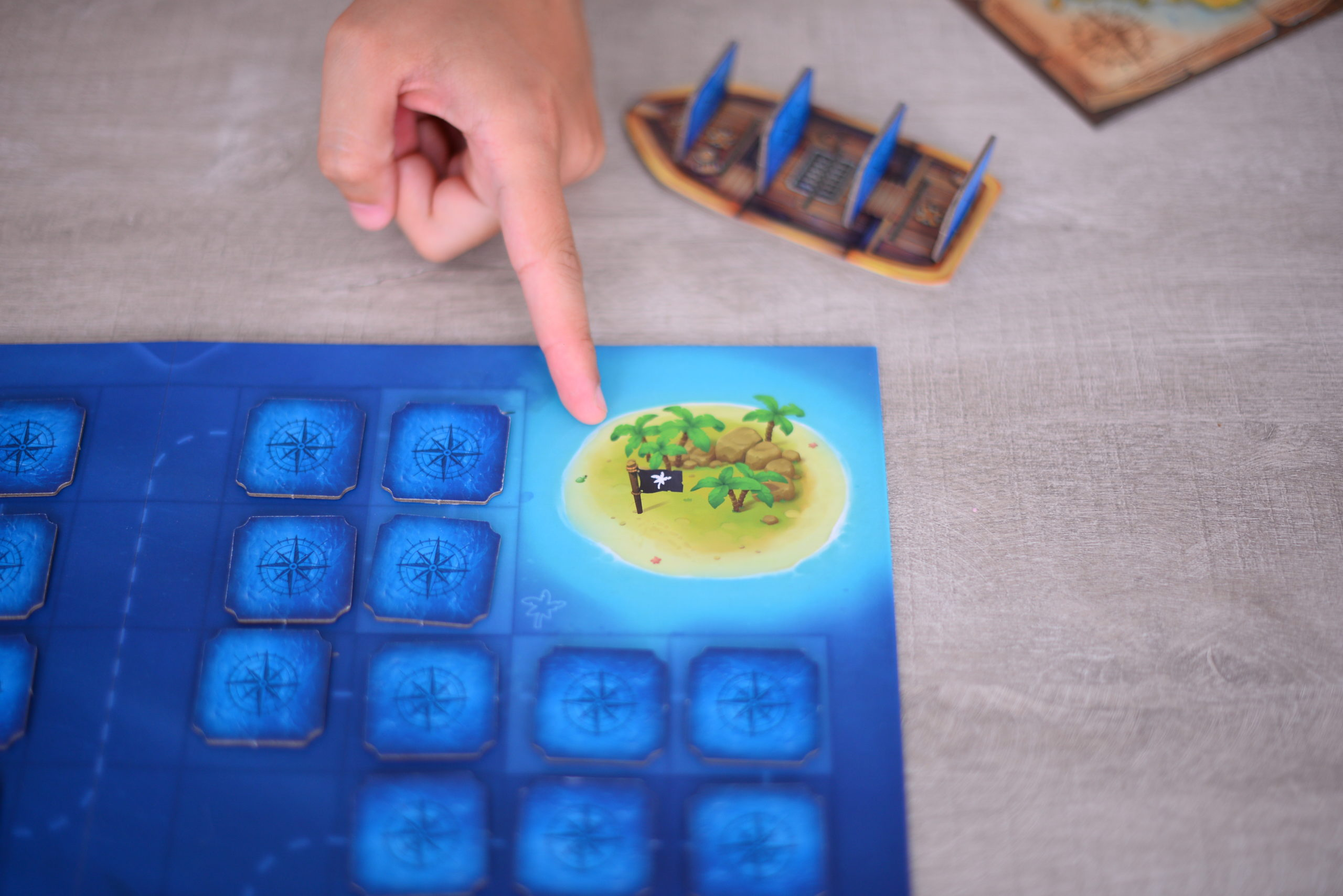 tresors legendaires, jeu de pirate, pirates, test, avis
